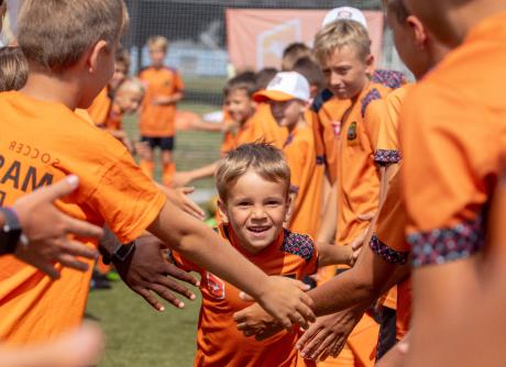 Учебно-тренировочные футбольные сборы «I love oranje» 2020
